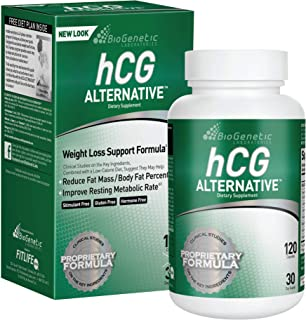 BioGenetic Laboratories hCG Alternative Formula Weight Loss Pills and Fat Burner for Men and Women - Boosts Metabolism Sup...
