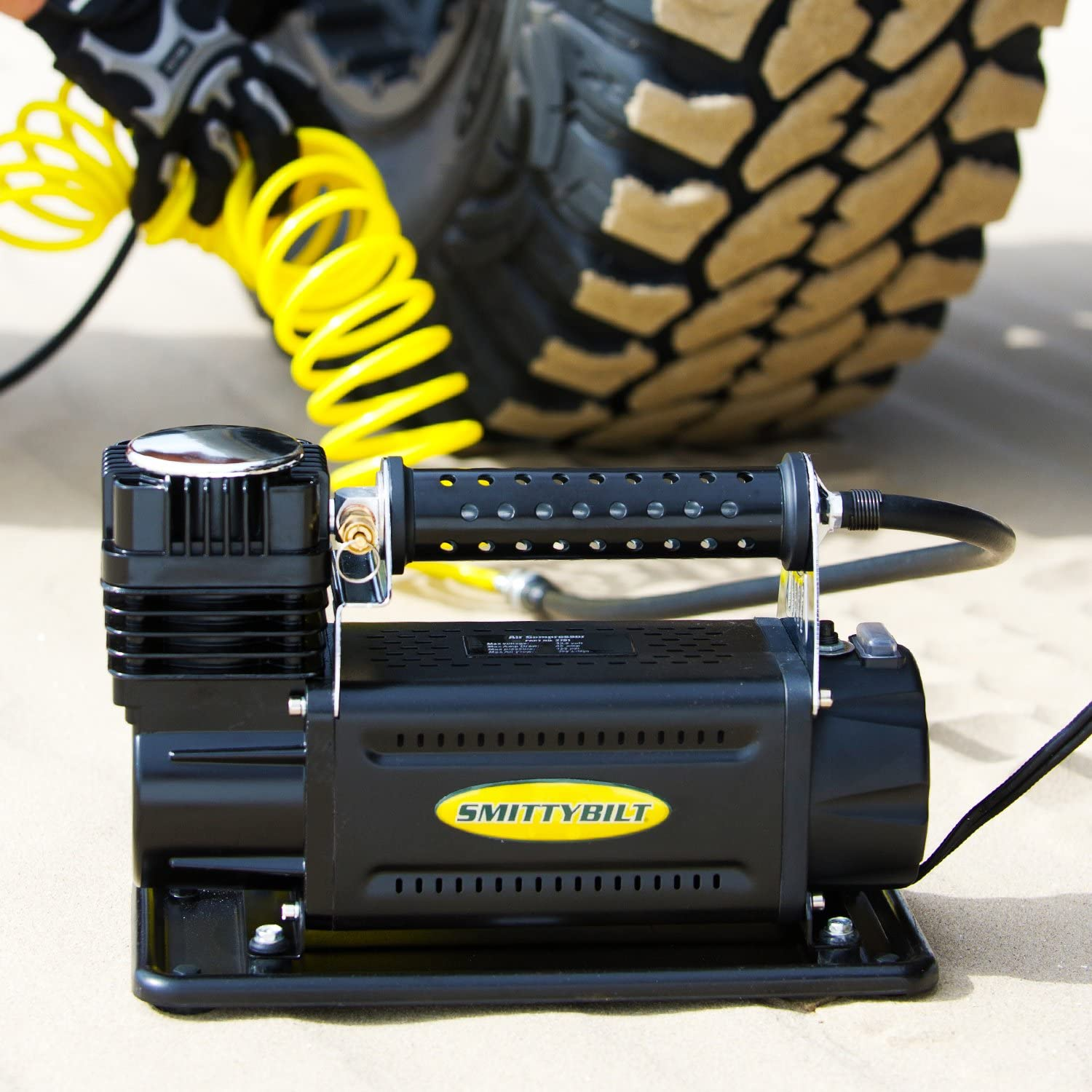 Smittybilt 2781 Air Compressor for Off-Road Vehicles