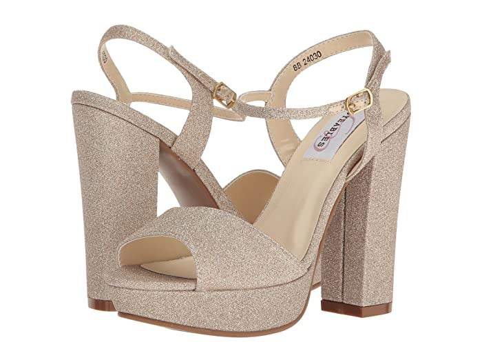 Touch Ups Whitta by Dyeables (Champagne Glitter) Women's Shoes