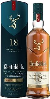 Glenfiddich Single Malt Scotch Whisky 18 Jahre mit Geschenkverpackung 1 x 0,7 l