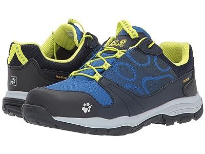 Jack Wolfskin Kids Akka Waterproof Low (Toddler/Little Kid/Big Kid) (Vibrant Blue) Boys Shoes