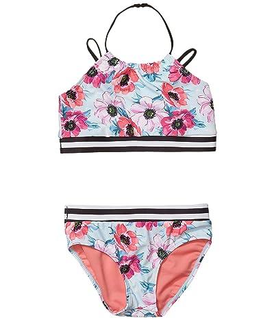 Appaman Kids Malia Bikini Set (Toddler/Little Kids/Big Kids) (Coastal Poppies) Girl