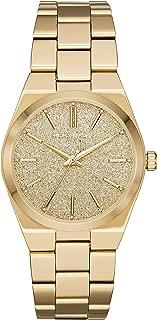 Diesel Women's Channing Three-Hand Gold-Tone Stainless Steel Watch MK6623