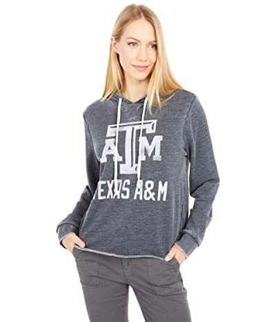 Champion College Texas AM Aggies Day Off Hoodie (Washed Black) Women
