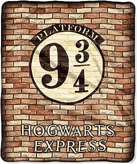 The Northwest Company Harry Potter Platform 9 3/4 Hogwarts Express Silk Touch Throw Blanket 50