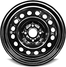 Road Ready Car Wheel For 2003-2007 Ion Saturn 15 Inch 4 Lug Black Steel Rim Fits R15 Tire - Exact OEM Replacement - Full-Size Spare