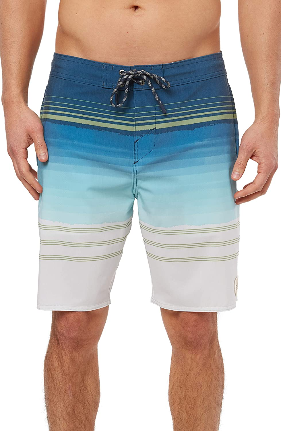 O'NEILL Men's Water Resistant Stretch Volley Swim Boardshort, 19 Inch Outseam