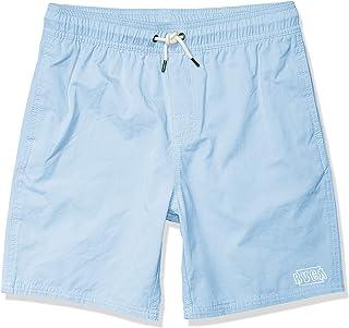 RVCA Boys Boys Opposites Elastic Short Blue Large