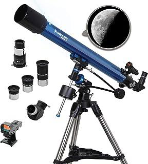 Meade Instruments Polaris 70Eq Refractor Telescope - Metallic Blue
