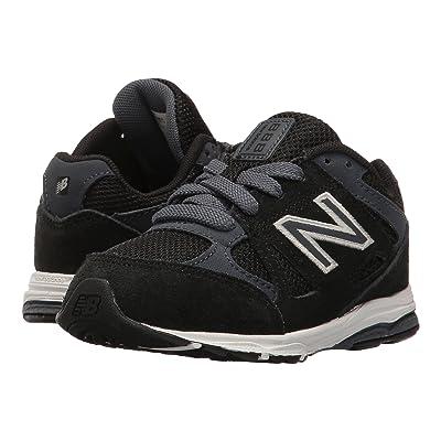 New Balance Kids KJ888v1 (Infant/Toddler) (Black/Grey) Boys Shoes