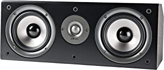 Polk Audio CS1 Series II Center Channel Speaker | Unique Design | Stand Alone or a Complement to Monitor 40, 60, and 70 Speakers | Detachable Grille | Black (Renewed)