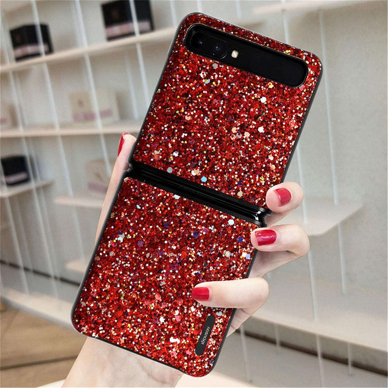 Samsung Galaxy Z Flip Case/Z Flip 5G Case, Slim Shockproof Phone Case Cover for Samsung Galaxy Z Flip 5G 2020 Red