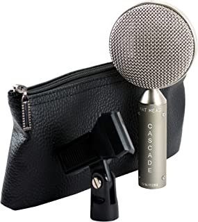 Cascade Microphones FAT HEAD BE Grey Body/Anodized Silver Grill