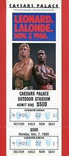 Donny Lalonde November 7, 1988 Caesars Palace Boxing Ticket