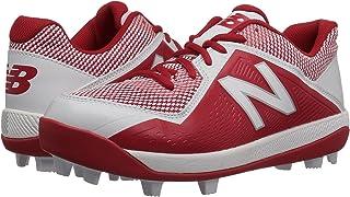 (ニューバランス) New Balance メンズランニングシューズ?スニーカー?靴 J4040v4 Baseball (Little Kid/Big Kid) Red/White レッド/ホワイト 4.5 Big Kid (23cm) M