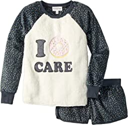 P.J. Salvage Kids - Sprinkles Donut Pajama Set (Big Kids)