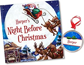Personalized TWAS' The Night Before Christmas Storybook with Ornament