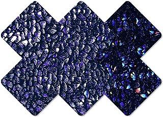 Nippies Style Black Rock Cross Waterproof Self Adhesive Nipple Cover Pasties