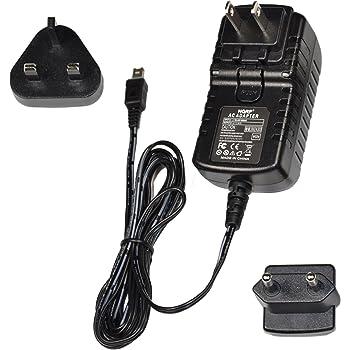 incl. USA Plug /& Euro Adapter HQRP Wall AC Power Adapter for JVC Everio GZ-HD3 GZ-HD3US GZ-HD3EK GZ-HD3EX Camcorder