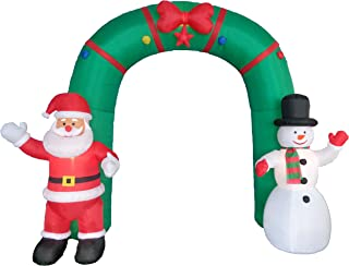 christmas ladder inflatable