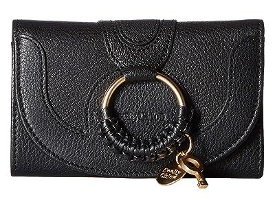 See by Chloe Hana Small Wallet (Black) Wallet Handbags