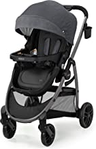 Graco Modes Pramette Stroller | Baby Stroller with True Bassinet Mode, Reversible Seat, One Hand Fold, Extra Storage, Chil...