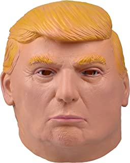 SMAYS Donald Trump Mask (Latex Rubber, Full Head, Adults Face Size)