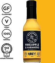 Bravado Spice Pineapple and Habanero Hot Sauce   Gluten Free   Vegan   Low Carb