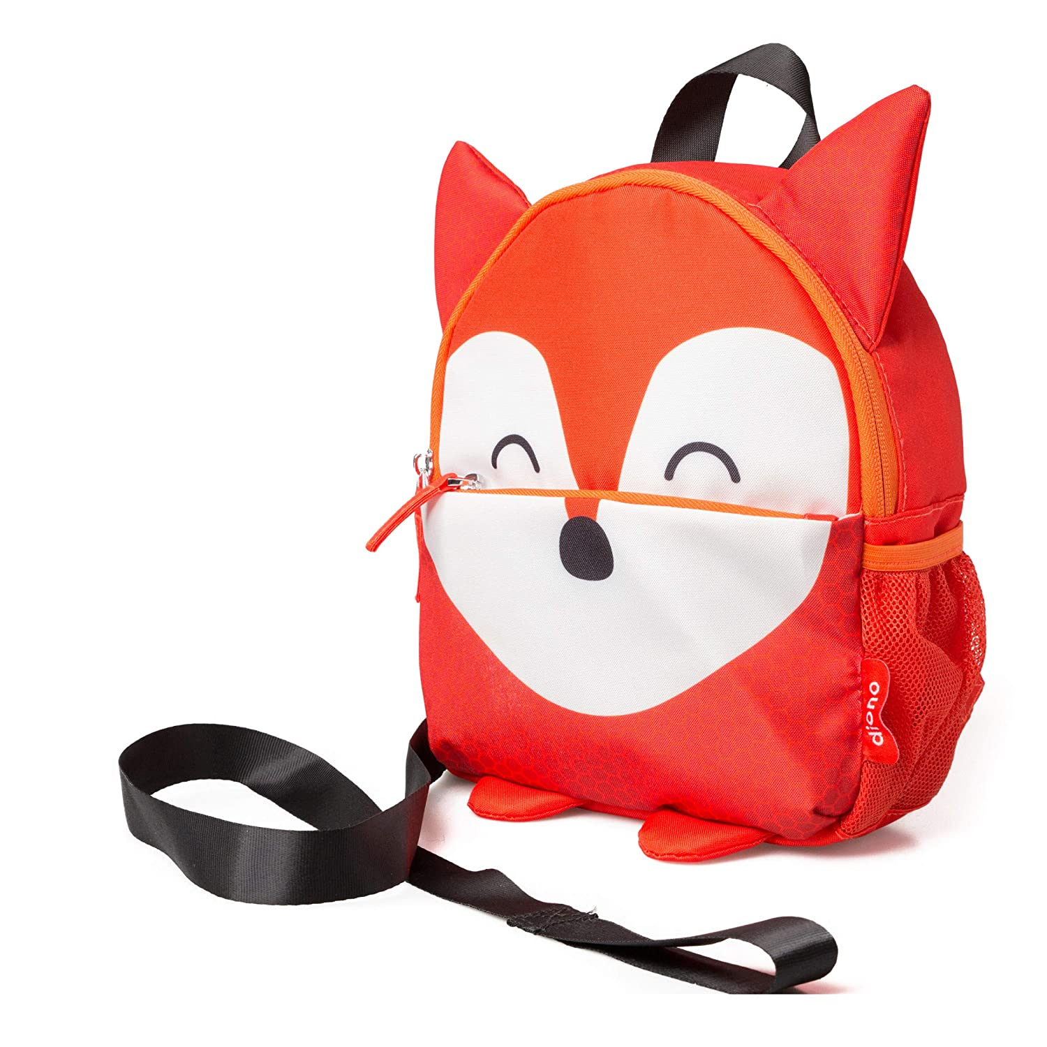 Diono Fox Character Kids Mini Back Pack Toddler Leash & Harness for Child Safety, with Padded Shoulder Straps for Child Comfort