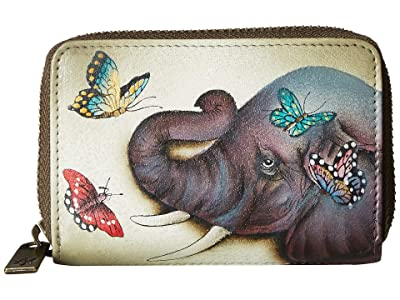 Anuschka Handbags Credit And Business Card Holder 1110 (Gentle Giant) Coin Purse