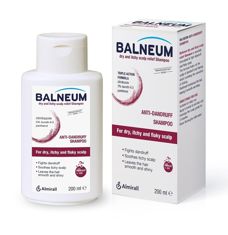 ぼんやりした下線構成Balneum Dry and itchyスカルプリリーフシャンプー、200 ml