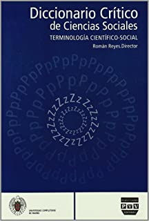 DICCIONARIO CRÍTICO DE CIENCIAS SOCIALES vol. 4