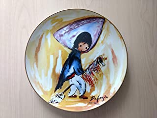 """Ettore """"Ted"""" DeGrazia: """"My First Horse"""" Children at Play Series Collector Plate"""