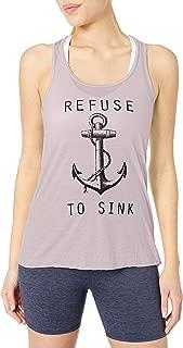 Clementine Women's Refuse to Sink Printed Flowy Racerback Tank