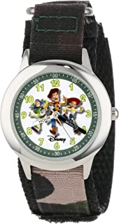 Disney Boys' Toy Story Camo Time Teacher Watch