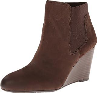 أحذية نسائية طويلة حتى الكاحل وتدي من Franco Sarto Octagon مصنوعة من جلد أكسفورد بني 6