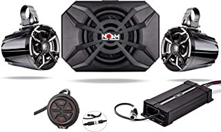 NOAM NUTV5-S V.2 - ATV/Golf Cart/UTV Waterproof Speakers Bluetooth 2.1 Marine Stereo System