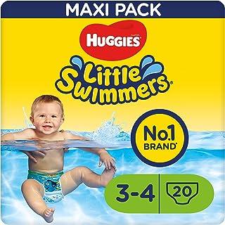 Huggies Little Swimmers Schwimmwindeln, Gr.3/4 7 - 15 kg, 1 Packung mit 20 Stück