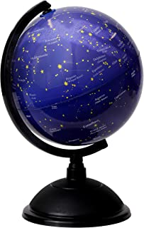 Juvale Mini Star Constellations Astronomy Globe, Dark Purple and Black, 8 Inches
