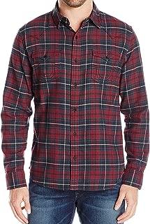 Men's Ozone Flannel Plaid Western Button Down Shirt