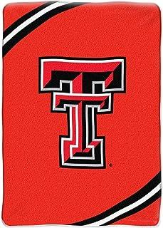 Texas Tech Red Raiders 60x80 Royal Plush Raschel Throw Blanket