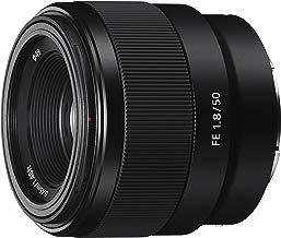 Sony SEL50F18F.SYX - Objetivo Fijo (FE 50mm, F1.8), Negro