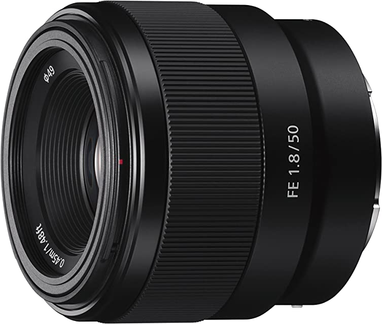 Sony SEL50F18F.SYX Objetivo Fijo (FE 50 mm F1.8) Negro Lens Only