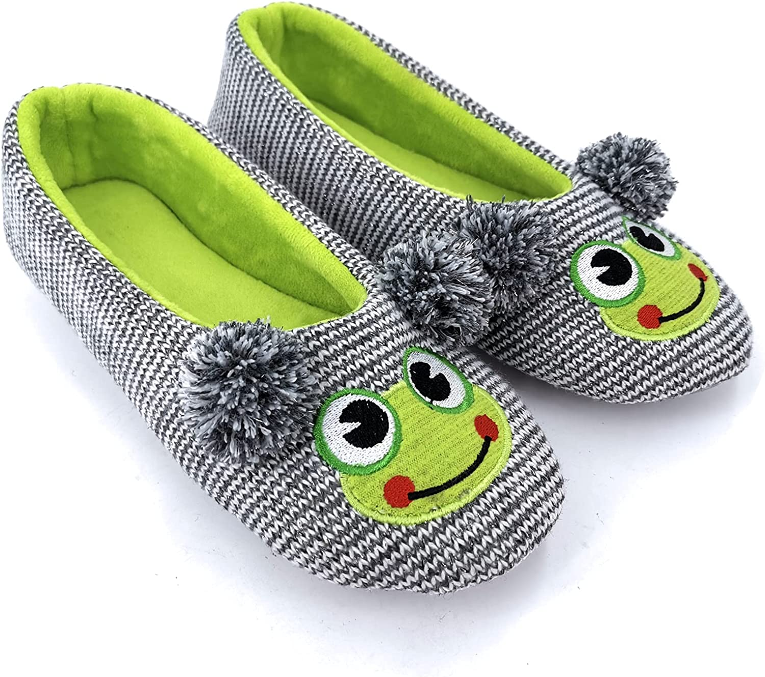 ofoot Womens Cute Knit Ballerina Fuzzy Funny House Slippers Sales of SALE items from new works Flat Sale special price