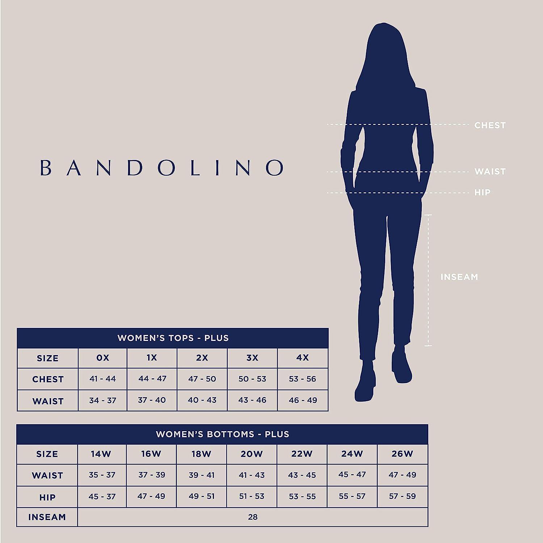 Bandolino Womens Amalia Classic High Rise 6 Jean Short