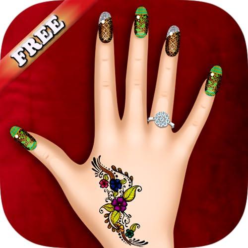 Nail art Nägel Maniküre - Spiel für Mädchen - KOSTENLOS