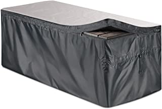 """Bag Mate Deck Box Cover - L: 62"""" W:30"""" H:28""""- Waterproof Quick Open Cover Top with Zipper - Best Fit for Keter Deck Boxes:..."""