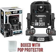 Funko Pop! Star Wars: Rogue One - C2-B5 #147 Vinyl Figure (Bundled with Pop Box Protector Case)