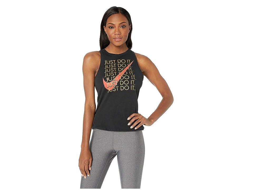 Nike Sportswear Tank High Just Do It (Black) Women