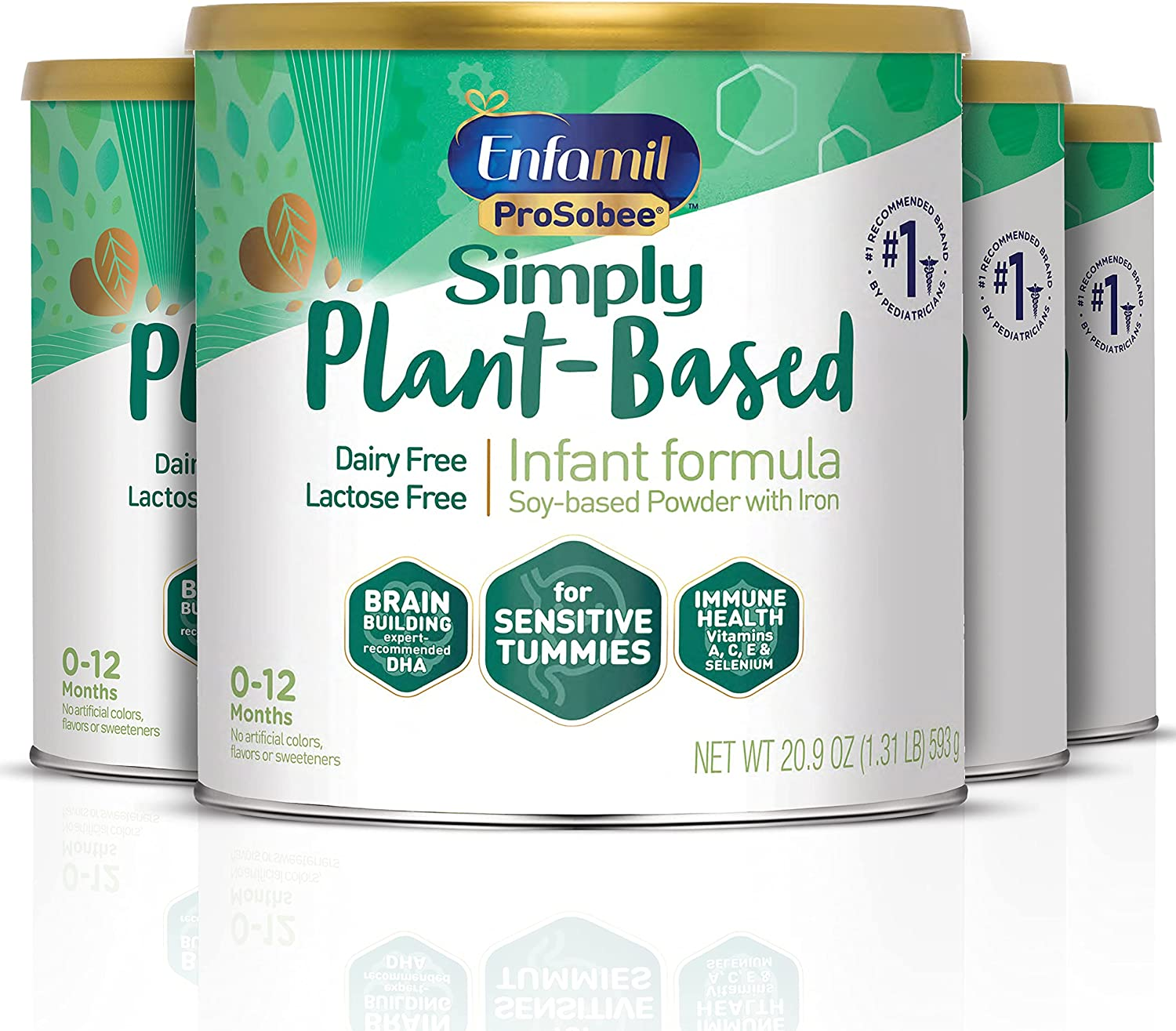 Plant based Limited price sale Baby Formula 4 Powdered Sale SALE% OFF Enfam 20.9 each Cans Oz
